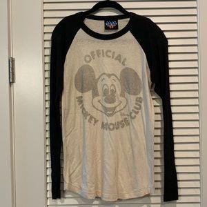 RARE Vintage Junk Food Mickey Mouse Club Tee - M